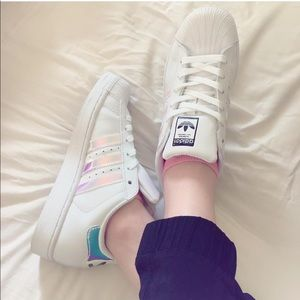 adidas Shoes - Adidas Superstar Iridescent Sneakers
